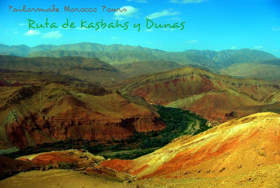 Viajes a Marruecos, kasbahs y dunas. Tailormade Morocco Tours